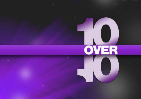 10 over 10 logo