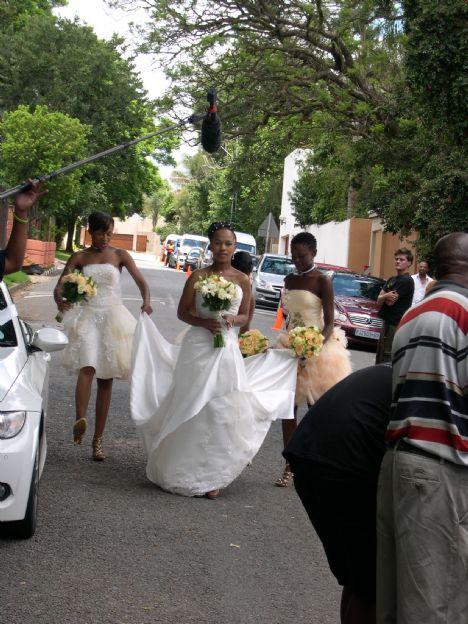 Thandaza's Wedding in Muvhango Soapie