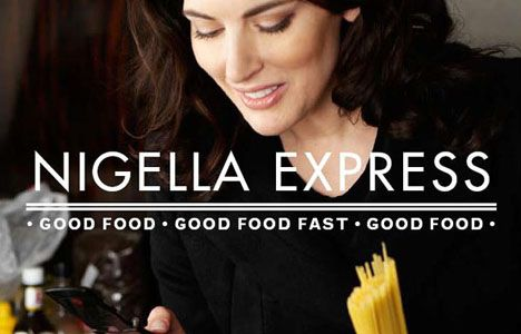 Nigella Express is Nigella Lawson's new cooking series that focuses on short