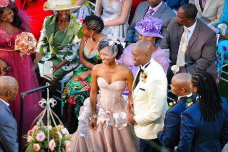 Generations Dineo Wedding 10