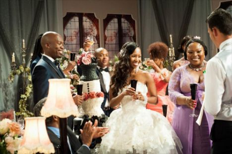 Generations Dineo Wedding 35