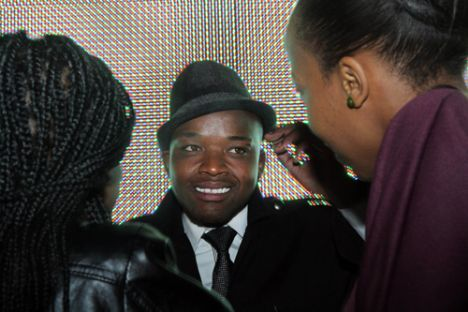 The Idols finalists during a meet-and-greet with fans in Sandton.