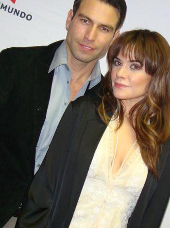 Rafael Amaya and Angelica Celaya who aren't on
