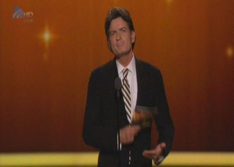 Charlie Sheen emmy 1