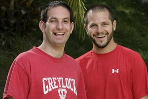 Zev Glassenberg and Justin Kanew