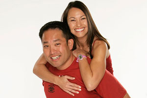 Joe Wang and Heidi Wang
