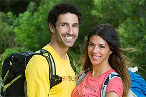 Ethan Zohn and Jenna Morasca