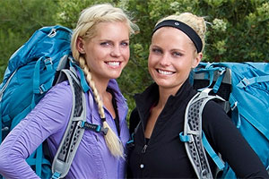 Liz Canavan and Marie Canavan