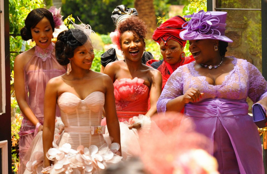 Generations Dineo And Phenyos Wedding Pics Generations Teasers