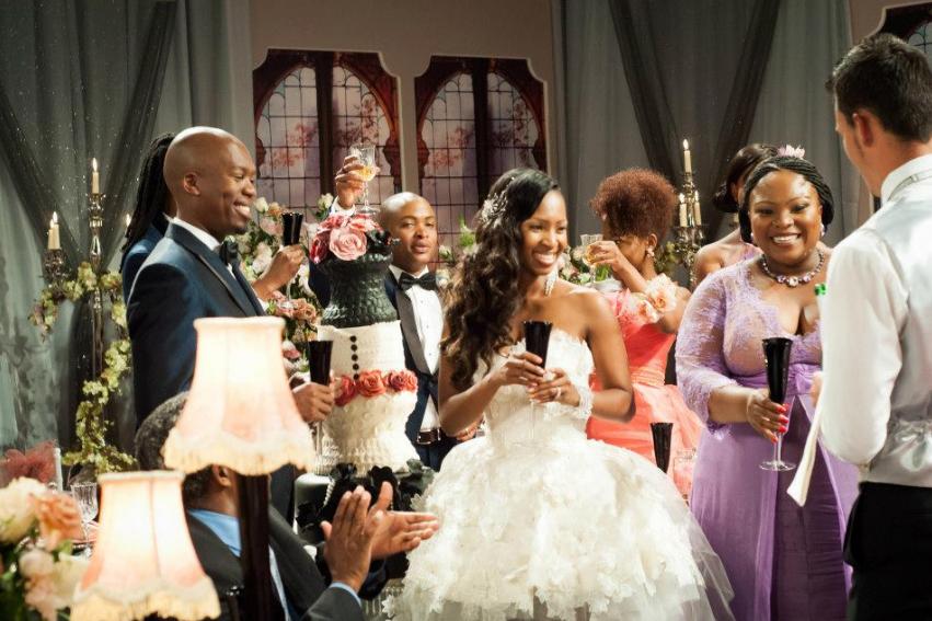 Sophie Ndaba Wedding Cake