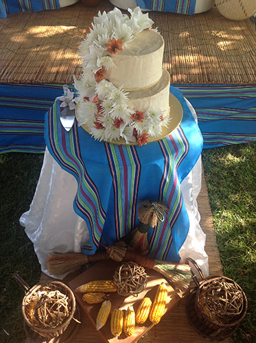 Hangwani from muvhango wedding bands