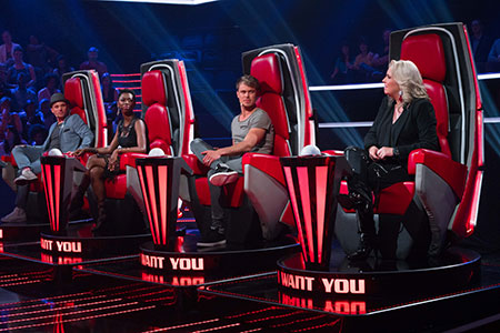 The Voice South Africa coaches