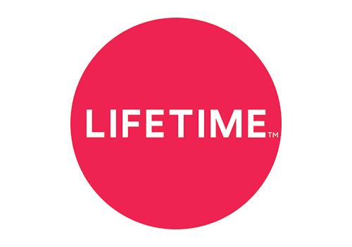 Lifetime logo since February 2018
