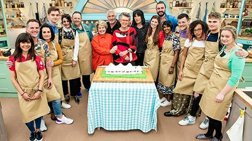 The Great British Bake Off 10
