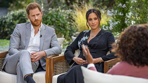 CBS Presents Oprah with Meghan and Harry