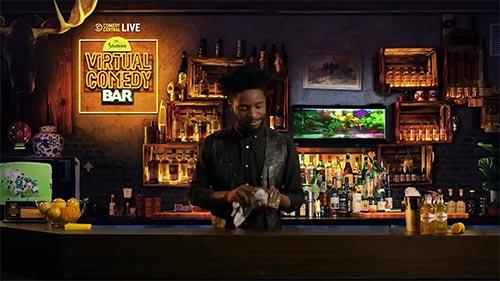 Comedy Central Live at the Savanna Virtual Comedy Bar 2